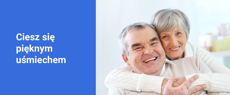 Banner ciesz się pięknym uśmiechem - Poliklinika Stomatologiczna Polmedico