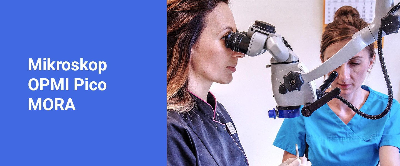 Mikroskop OPMI Pico MORA - Poliklinika Stomatologiczna Polmedico