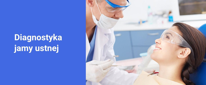 Banner wczesne wykrywanie problemów jamy ustnej - Poliklinika Stomatologiczna Polmedico